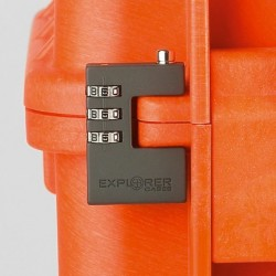Expl Combilock - Patented combination padlock