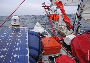 Explorer Cases used during a Sailing Race