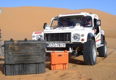 Explorer Cases used during Paris Dakar Ralley